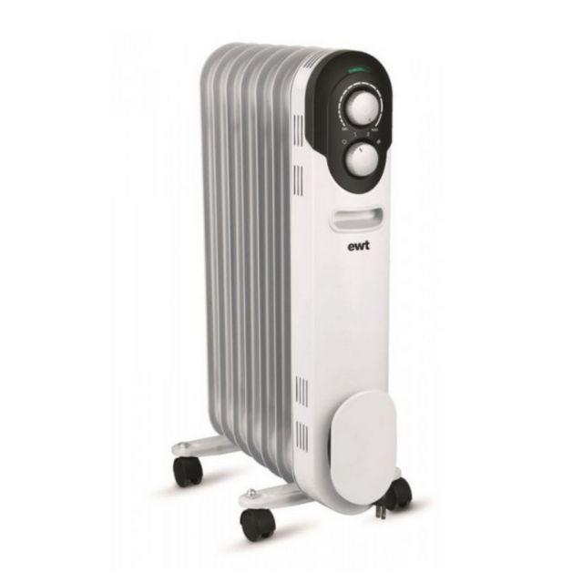 ewt radiateur bain d 39 huile 1500w blanc cocoon15 pas cher achat vente radiateur bain d. Black Bedroom Furniture Sets. Home Design Ideas