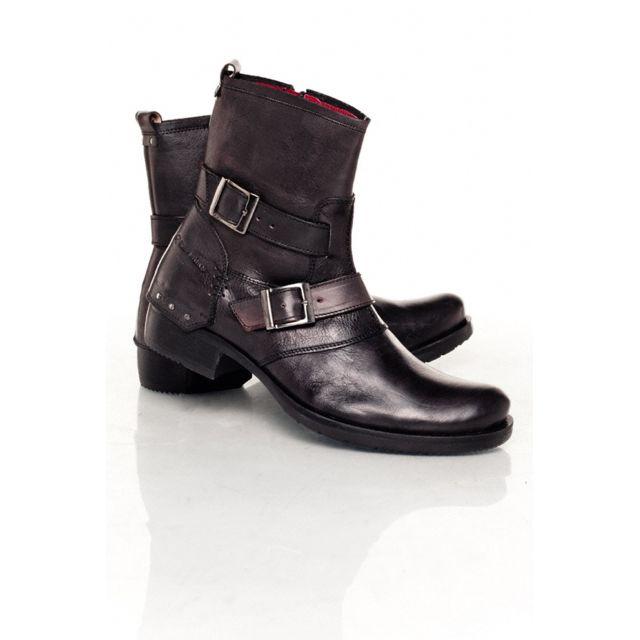 Pas Cher Jarry Achat Boots Noir Bottes Chaussures Redskins OYXqTn d6495083d0d3