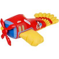 Promobo - Avion Gonflable Mickey Jouet Piscine Plage Enfant Licence Disney