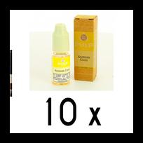 Pulp - Lot de 10 e-liquides Ananas coco 6mg soit 4,90 euros le flacon 10ml