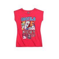 Monster High - Joli t-shirt à manches courtes ! Joli motif Col rond 100% coton Lavable à 30° T-shirt à manches courtes