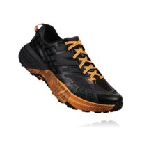 Hoka One One - Speedgoat 2 Noire Et Orange Chaussures de trail