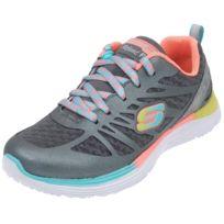 Skechers - Chaussures multisport Valeris argent fun Gris 36477