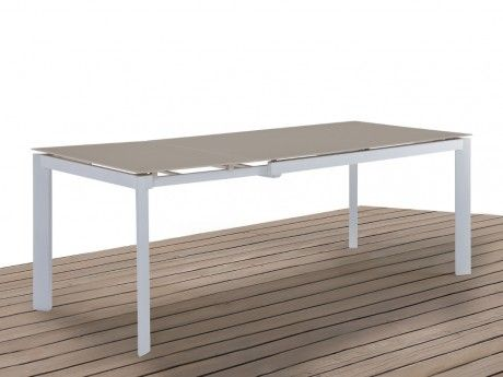 Table extensible Taupe