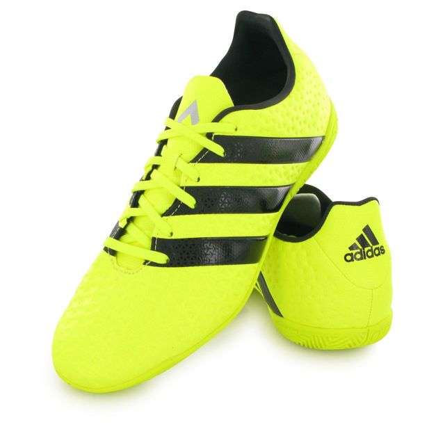 Adidas Ace 16.4 Indoor jaune, chaussures de football mixte