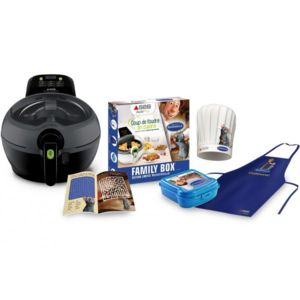 seb friteuse actifry family box ratatouille 1 kg yy3763fb. Black Bedroom Furniture Sets. Home Design Ideas