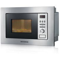 Severin - micro-ondes + gril encastrable 20l 800w inox - mw7880