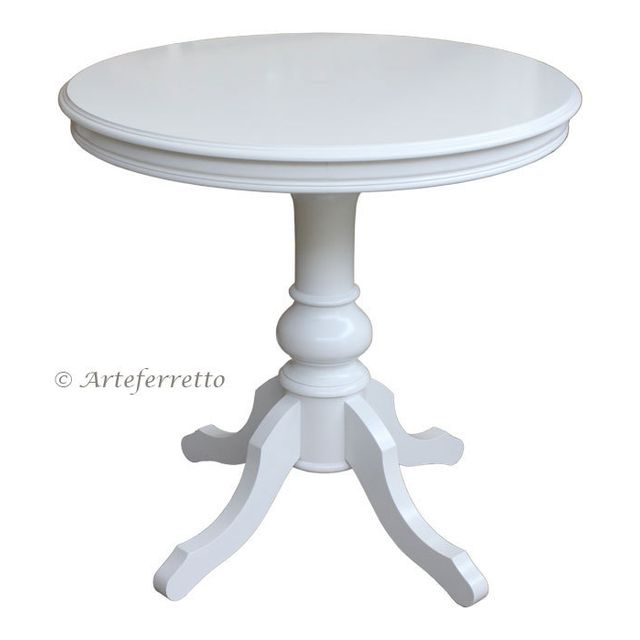 Artigiani Veneti Riuniti Table ronde 80 cm laquée