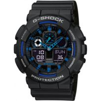 Casio - Promo Montre Résine G-shock Ga-100-1A2ER - Homme