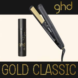 ghd spray lisseur fer a lisser styler classic gold plaque moyenne achat lisseur. Black Bedroom Furniture Sets. Home Design Ideas