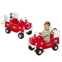 Little Tikes - Camion de pompier rouge