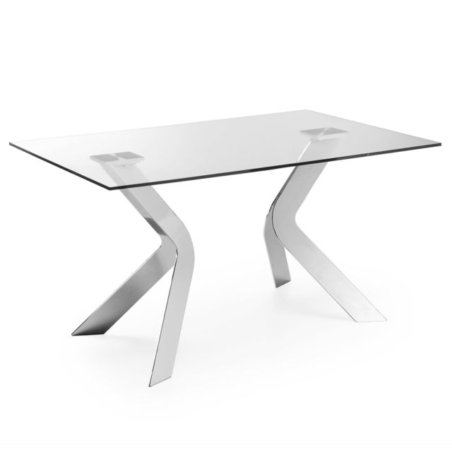 Kavehome Table Westport 150x90 cm, argent