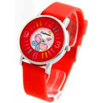 Cadiman Femme - Montre Femme Silicone Rouge 2272