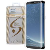 Caseink - Protection écran Verre trempé Samsung Galaxy S8 G950 9H Séries Glass Pro+ Hd Dureté Extreme 9H Epaisseur 0.33mm Angles incurvés 2.5D