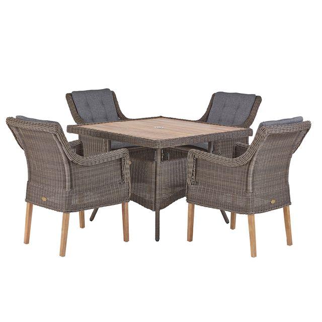 Rotin-design - DÉSTOCKAGE: -40% Table et chaises de jardin ...