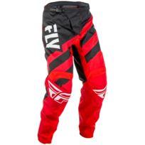 Fly Racing - Pantalon F-16 Rouge Noir