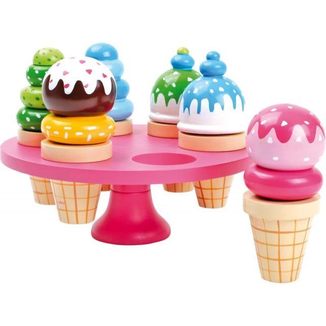 Small Foot Company Cornets de glace avec présentoir
