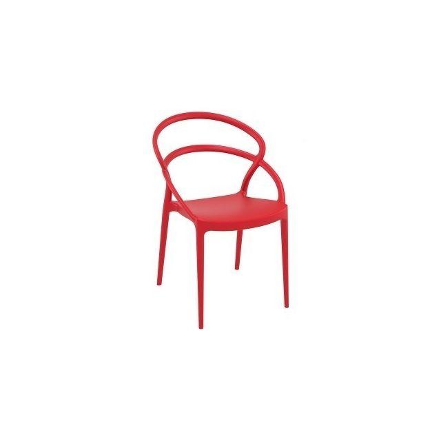 Rouge Vente Homense Chaise cher pas Achat Taro Chaises RjLq54A3