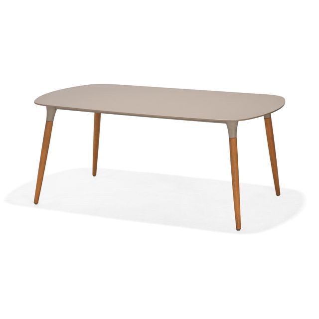 RUE DU COMMERCE Table Duranite L 180 x l 107 x H 76 cm