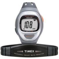 Timex - T5G-941 Montre étanche alarme chrono affichage des puslations livré avec ceinture à mettre au niveau du coeur