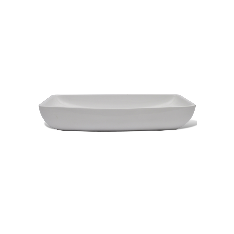 Vidaxl - Vasque à poser en céramique Rectangulaire Blanche 71 x 39 cm