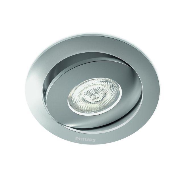 Incroyable Philips - 591804816 - Spot Encastrable Led Asterope - Aluminium XH-43