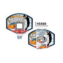 Cdts - Usg Panneau de Basket avec Cercle et Filet