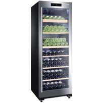Haier - Cave à vin multi-usages - 2 temp 136 bouteilles - Noir Aci-hai411 - Pose libre
