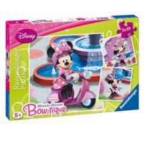 Ravensburger - Puzzle 3 x 49 pièces : Mickey : Minnie au parc