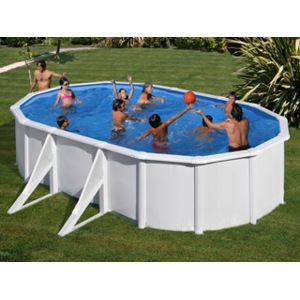 gr pools vigipiscine kit piscine hors sol acier gr san marina azores ovale x x 1. Black Bedroom Furniture Sets. Home Design Ideas