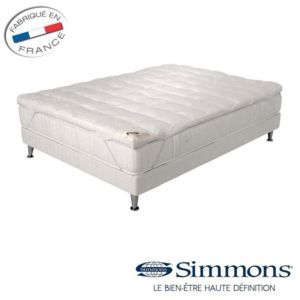 simmons sur matelas de confort 160 x 200cm pas cher achat vente t tes de lit rueducommerce. Black Bedroom Furniture Sets. Home Design Ideas