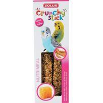 Zolux - Crunchy stick perruche millet / miel 85g