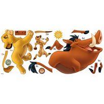 Roommates - Stickers géant Simba et Timon & Pumba Roi Lion Disney