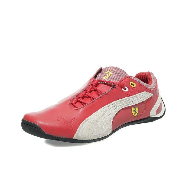 Cat Garçon Chaussures Puma Rouge Future Ferrari Scuderia M2 YEDIWH29
