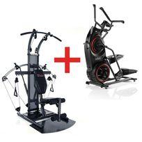 Bowflex - Pack Stepper Elliptique Max trainer M3 + Appareil charge libre Bio Force Extreme