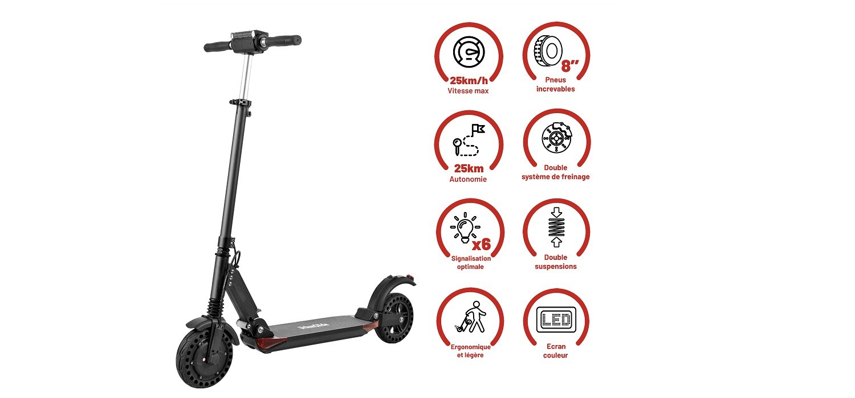 Trottinette électrique Ride-81 Boost UrbanGlide