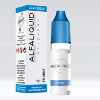 Alfaliquid - E-liquide Fr-mint 10ml Genre : 11 mg