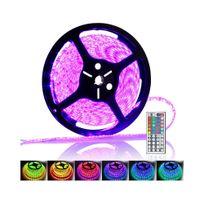 Auto-hightech - Ruban à Led multicolores étanche 5 mètres télécommande idéal pour déco