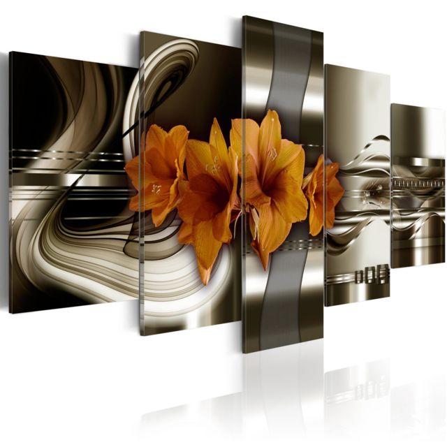 ARTGEIST Tableau - Vagues abstraites 100x50