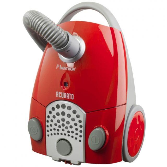 Autre Aspirateur Bestron Abg250RSE Rouge/Argenté ménage électroménager 1100 W 3902013