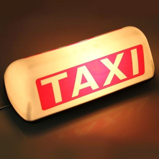wewoo d me de taxi voiture lumineux panneau de toit de. Black Bedroom Furniture Sets. Home Design Ideas