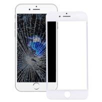 10593ac48e5833 Wewoo - Vitre blanc pour iPhone 7 Plus Lentille En Verre Externe Avec Écran  Avant Lcd