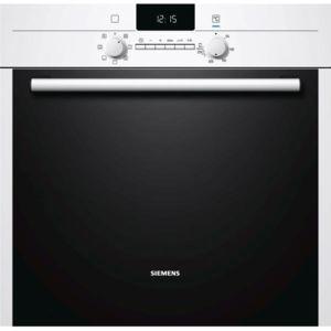 SIEMENS - four intégrable 65l 60cm a catalyse blanc/noir - hb43ab222f