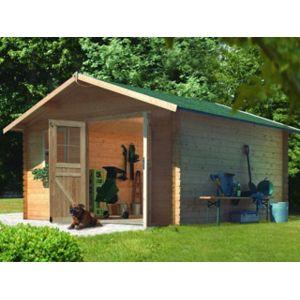 karibu pool zen spa abri de jardin berne 5 coloris bois naturel dimensions 327 x 253 x 253cm. Black Bedroom Furniture Sets. Home Design Ideas