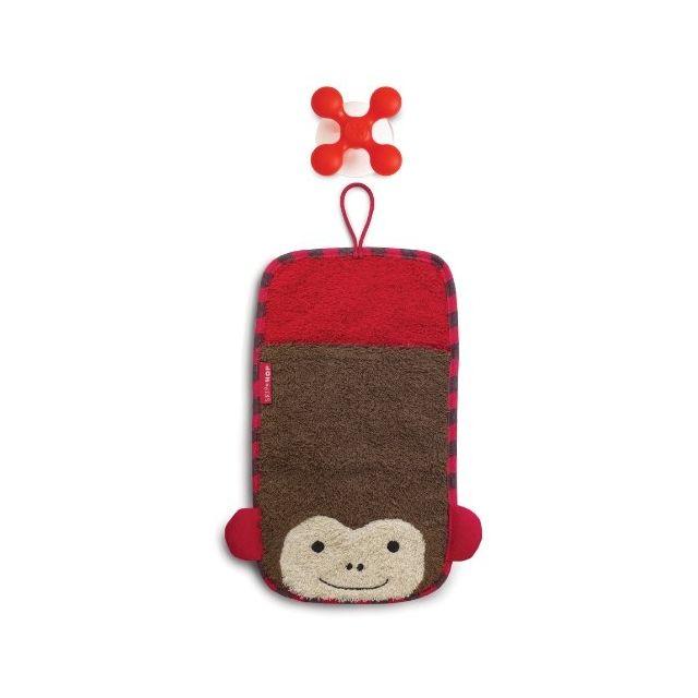 skiphop skip hop 235203 gants de toilette zoo mitts singe pas cher achat vente. Black Bedroom Furniture Sets. Home Design Ideas