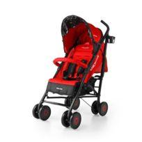 Milly Mally - Poussette canne compacte enfant bébé 6m+ avec équipement Meteor | Rouge