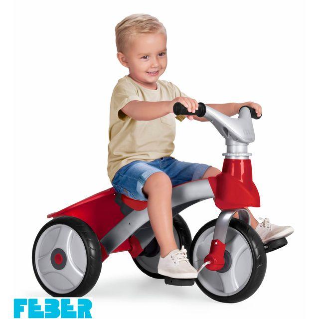 FEBER - Baby Trike easy Evolution - 800009473 Rouge