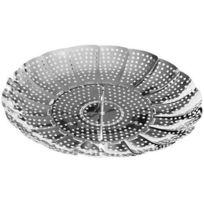Fackelmann - 42491 - Cuit Vapeur - Inox - Diamètre: 14 à 22 cm