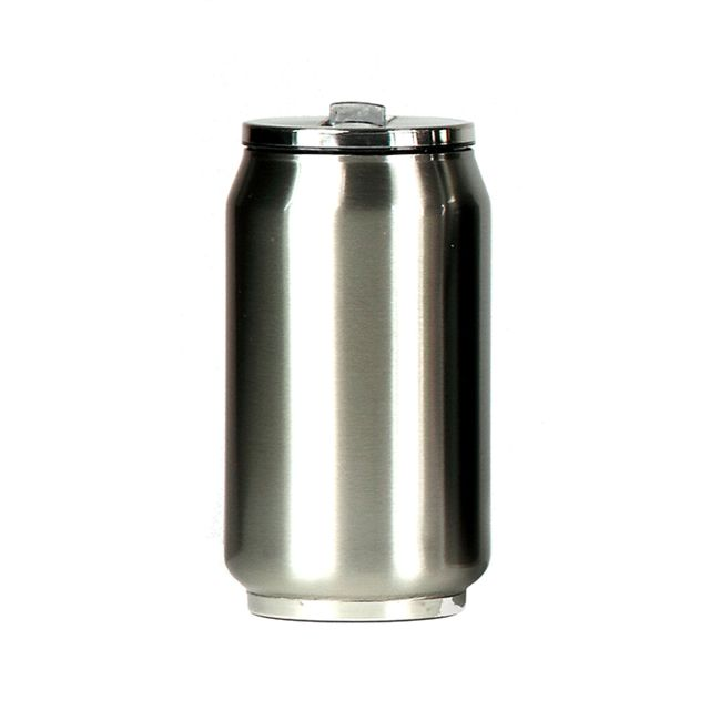 YOKO DESIGN Mug canette isotherme inox 280 ml - Silver