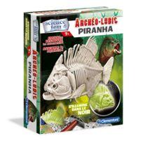 Clementoni - Science et jeu : Archéo-ludic : Piranha phosphorescent